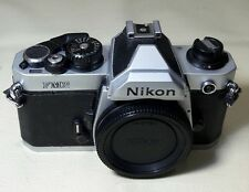 NIKON FM2 35MM FILM SLR CLASSIC STUDENT CAMERA WORKING CONDITION