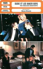 FICHE CINEMA FILM USA THE FABULOUS BAKER BOYS/ SUSIE ET LES BAKER BOYS S. Kloves