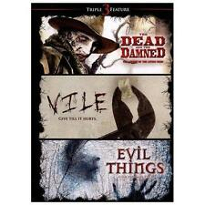 The Dead and the Damned/Vile/Evil Things (DVD, 2013)