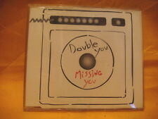 MAXI Single CD DOUBLE YOU Missing You 6TR 1993 eurodance