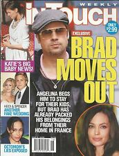 In Touch magazine Angelina Jolie Brad Pitt Katie Holmes Heidi Spencer Octomom