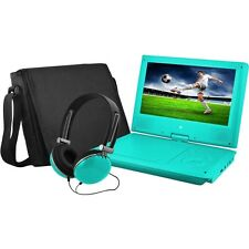 """Ematic EPD909TL EPD909 Portable DVD Player - 9"""" Display - 640 x 234 - Teal"""