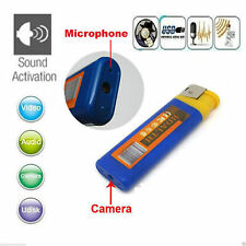 DV Lighter Hidden Spy Cam Camera DVR USB Video Recorder Support Micro Sd Up 16GB