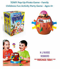 TOMY Pop-Up Pirate Game - Family Childrens Fun Activity Party Game - Ages 4+