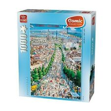 Nuevas! King Barcelona 1000 Pieza Comic Cartoon Jigsaw Puzzle