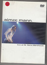 AIMEE MANN - live at st. ann's warehouse DVD + CD