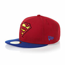 New Era 59fifty Superman Reverse Hero Fitted Cap Baseball Hat 7 5/8