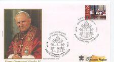 ENVELOPPE VISITE DU PAPE GIOVANNI PAOLO II / POSTE VATICANE / 2003