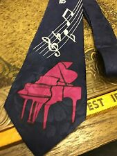 FLORENCE PIANO MUSIC BAND EXCLUSIVE DESIGNER SUIT NECKTIE TIE FREE SHIPPING