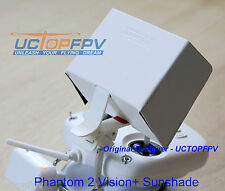 White Sun Hood Sun Shade for DJI Phantom All Models Samsung S4 HTC iPhone
