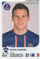 N°308 KEVIN GAMEIRO # PSG PARIS SG VIGNETTE STICKER  PANINI FOOT 2013