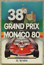 MONACO GRAND PRIX FORMULA ONE 1980 F1 OFFICIAL Race Programme