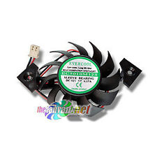 Evercool Video Card Replacement Fan 50mm x 10mm For Square Heatsink Frame