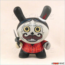 Kidrobot Dunny 2011 Azteca II 2 vinyl figure red by Saner with loose