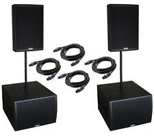 EAW JFX290i SBX220 high end pa system speakers pro band hire install EV Martin