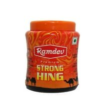 7 PACK OF RAMDEV PREMIUM STRONG HING POWDER ASAFOETIDA WITH LOW SHIPPING COST
