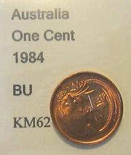 1984 Australia 1c One Cent UNCIRCULATED FROM MINT SET