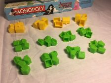 Adventure Time Monopoly Replacement Part HOTELS & HOUSES CASTLES TREE HOUSES