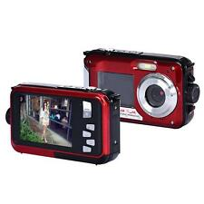 Wasserdicht Camera Doppel Bildschirm Full HD 24MP 16x Digital Zoom Tauchen