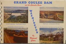 1950's  Picture Tour of Grand Coulee Dam and the Columbia Basin