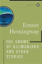 The Snows of Kilimanjaro and Other Stories (Scribner Classics)-ExLibrary