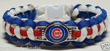 Chicago Cubs Paracord Bracelet OR Lanyard OR Key Chain; World Series Bound!