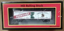 MTH HO scale Budweiser wood reefer 81-94002 Anheuser Busch Bud Boxcar