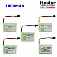 5 x 3.6V 1000mAh Cordless Phone Battery for Uniden BT-446 BT446 BT-1005 BT1005