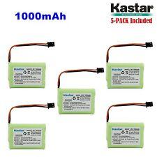5 x 3.6V 1000mAh Cordless Phone Battery for Uniden BT-446 BT446 BT-1005 BT1005