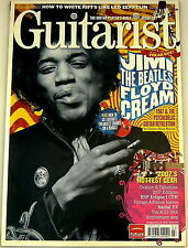 GUITARIST MAGAZINE March 2007 Jimi Hendrix Ovation ESP Vintage VOX AC15 Radial