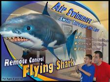Air Swimmers Remote Control Flying Shark Helium Balloon Toy For Kids