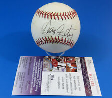 GEORGE FOSTER SIGNED OML BASEBALL ~ JSA R20789 ~ AUTOGRAPH BALL ~ REDS / METS