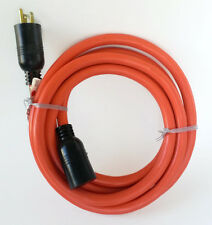 10' 10 Gauge Orange Heavy Duty Extension Cord - MADE IN USA