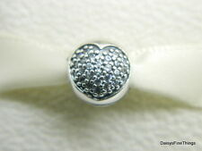 NEW! AUTHENTIC PANDORA CHARM LOVE OF MY LIFE CLIP #791053CZ   P