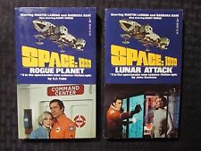 1976 SPACE 1999 Lunar Attack & Rogue Planet Pocket Paperback VF TV Tie-In