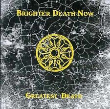 """Brighter Death Now """"Greatest Death"""" cd"""