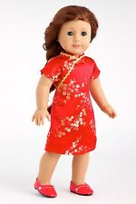Asian Beauty - Clothes for 18 American Girl Doll, Traditional Chinese Dress Shoe