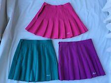 Lot Of 3 TRUE Vintage 70 80's Head Sportswear Women's Pleated Tennis Skirts Sz 8