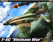 Academy 1/48 F-4C Vietnam War Cartograf Decal Plastic Model Kit Military 12294