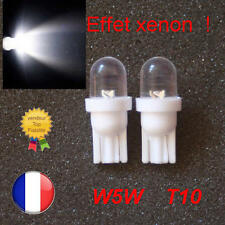 2 x T10 5W 501 SUPER BRIGHT KRYPTON LED ERROR FREE CANBUS WEDGE XENON WHITE BULB