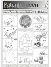 Pflastersteine patentierte Technologie auf 4370 Seiten