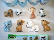 KINDER SURPRISE SET - NATOONS POLAR ANIMALS BABYS 2011 - FIGURES COLLECTIBLES