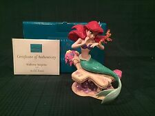 "WDCC The Little Mermaid Ariel ""Seahorse Surprise"" - New in Box"