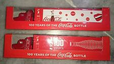 百年可口可乐珍藏版卡车 Coca Cola Special Edition Truck Pair ~ 100th Years Coke Anniversary