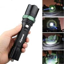 3500 Lumen 3 Modes CREE XM L T6 LED 18650 Compact waterproof Torch UK