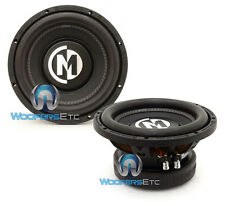 "(2) MEMPHIS BR10S4 10"" SUBS 800W SINGLE 4-OHM SUBWOOFERS LOUD BASS SPEAKERS NEW"