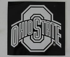 Ohio State University Lic White Sticker Qualilty NCAA Car Window College Decal