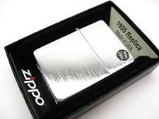 ZIPPO Brushed CHROME Finish 1935 Replica Windproof Lighter Model 1935.25 New!