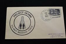 NAVAL SPACE COVER 1965 GEMINI GT-2 RECOVERY SHIP USS FOREST ROYAL (DD-872) (2187