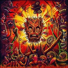 creepy paintings monsters Psychedelic fantasy art  Poster 60x60 cm Fabric Print